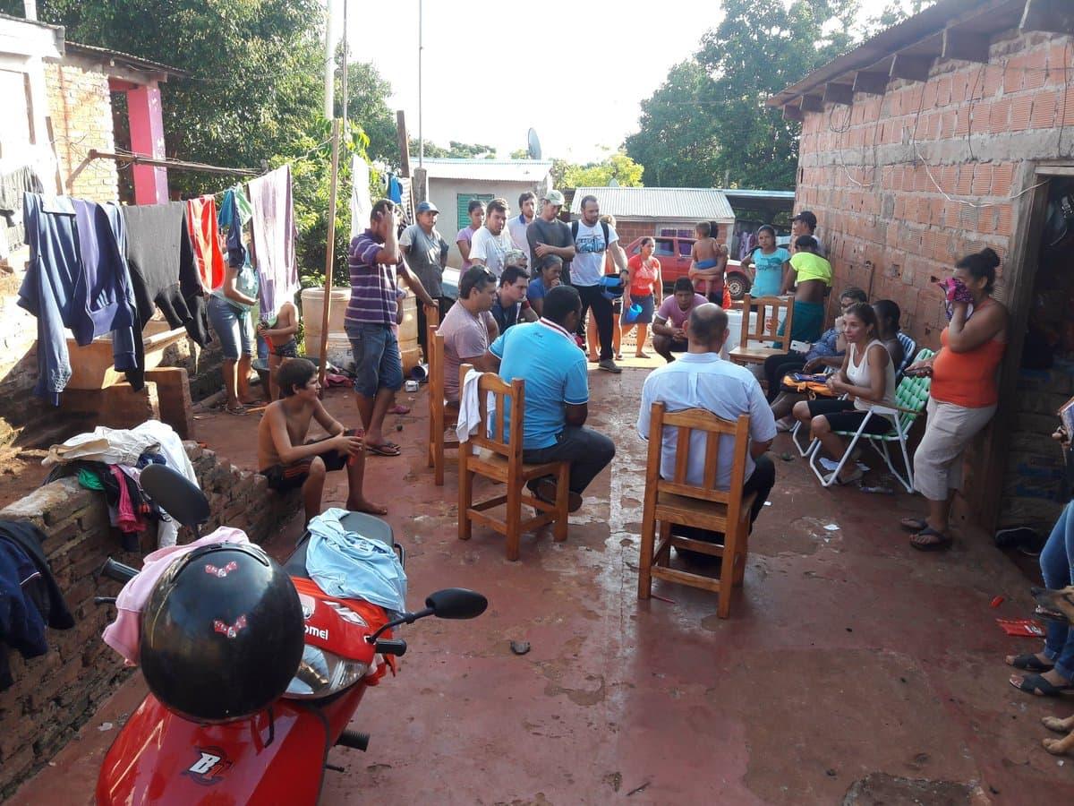 """Realizan una """"Jornada de trabajo integral a familias tareferas"""" en Oberá"""