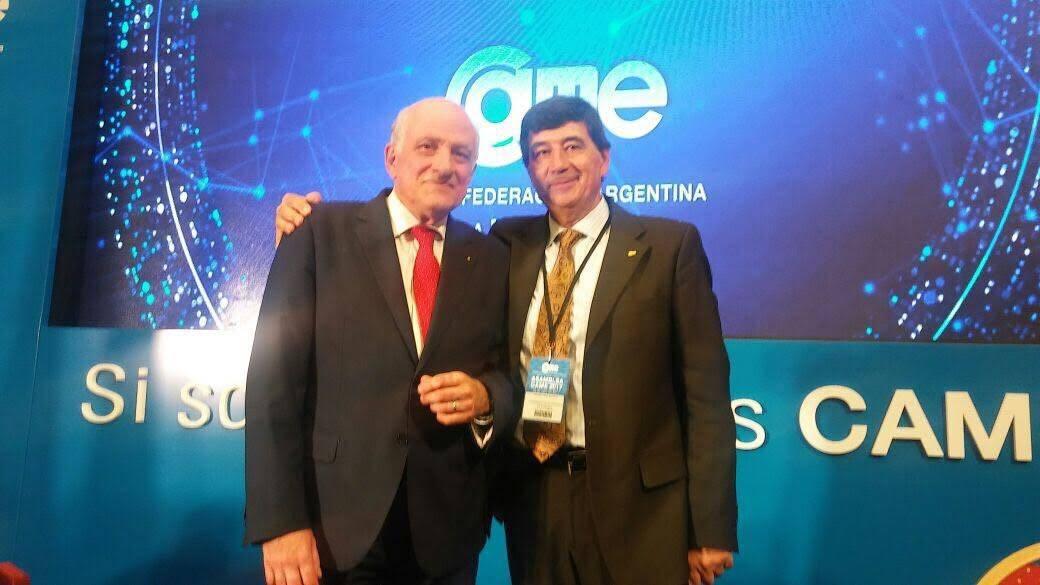 Díaz Beltrán reelecto en el comité de presidencia de la CAME