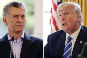Macri se reunirá con Trump en 27 de abril en Washington