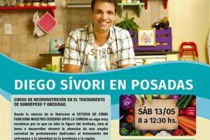 Diego Sívori dictará curso de Nutrición en Posadas