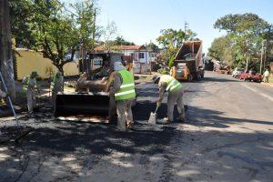 Passalacqua destacó las inversiones en caminos con recursos propios