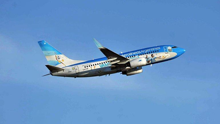 Aerolíneas Argentinas conectará a Santiago de Chile con Córdoba e Iguazú