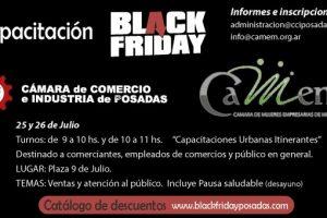 En la previa al Black Friday ofrecerán capacitaciones a comerciantes posadeños