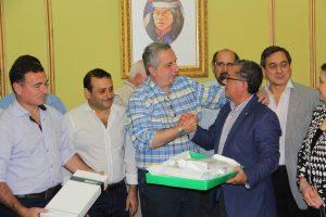 Passalacqua destacó donación de la fundación rotaria en beneficio de niños hidrocefálicos