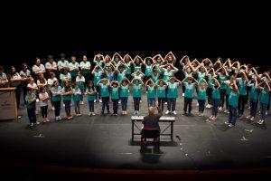 Tres días de capacitación del Coro Infanto-Juvenil del Parque del Conocimiento