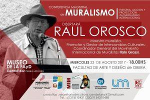 """Charla abierta hacia el primer encuentro internacional de muralismo y arte público """"Candelaria, ciudad histórica"""""""