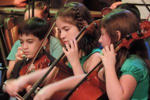 Arriba el Telón invita al Concierto para niños y por niños
