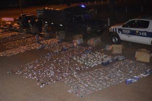 La Policía incautó camión repleto de juguetes de contrabando