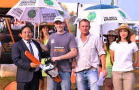 Con el sorteo de la casa y entrega de premios cerró la 12° edición de la Feria Forestal Argentina
