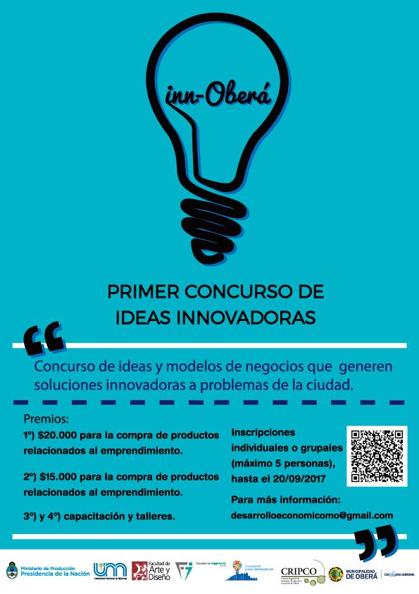 Primer concurso de ideas innovadoras en Oberá