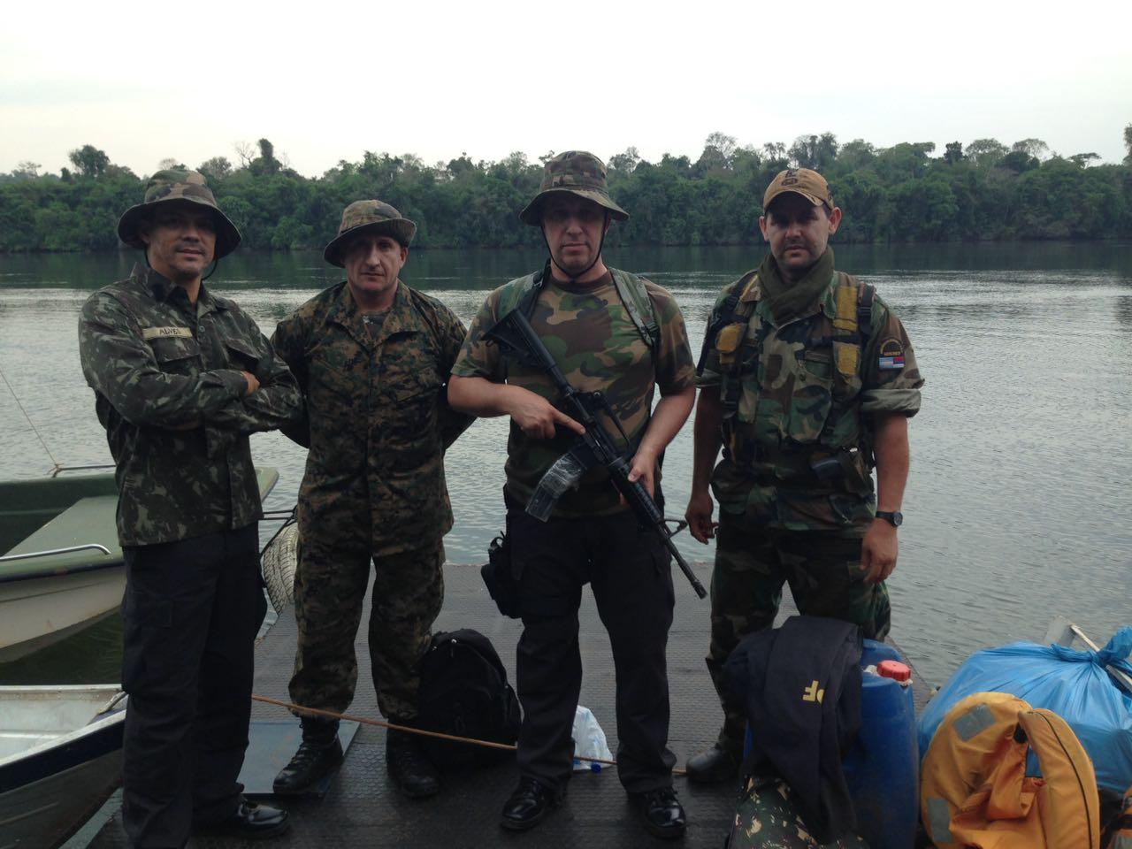 Prevención de delitos ambientales: exitoso operativo en conjunto entre fuerzas brasileñas y guardaparques de Misiones
