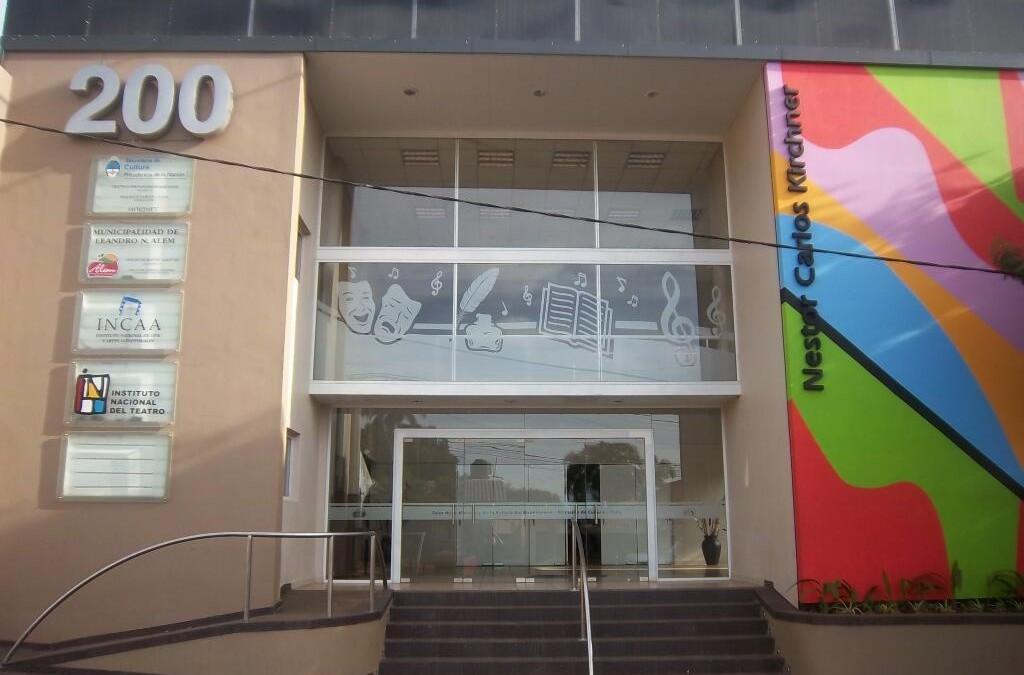 Casa de la Historia y la Cultura del Bicentenario de Leandro N. Alem. Misiones. (gracias @Patagonico7)
