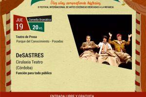 El Tutú Marambá presenta un jueves de DeSastres