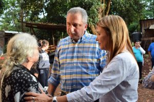 Passalacqua visitó un comedor de la chacra 135 y comprometió ayuda para emprendimiento de mujeres