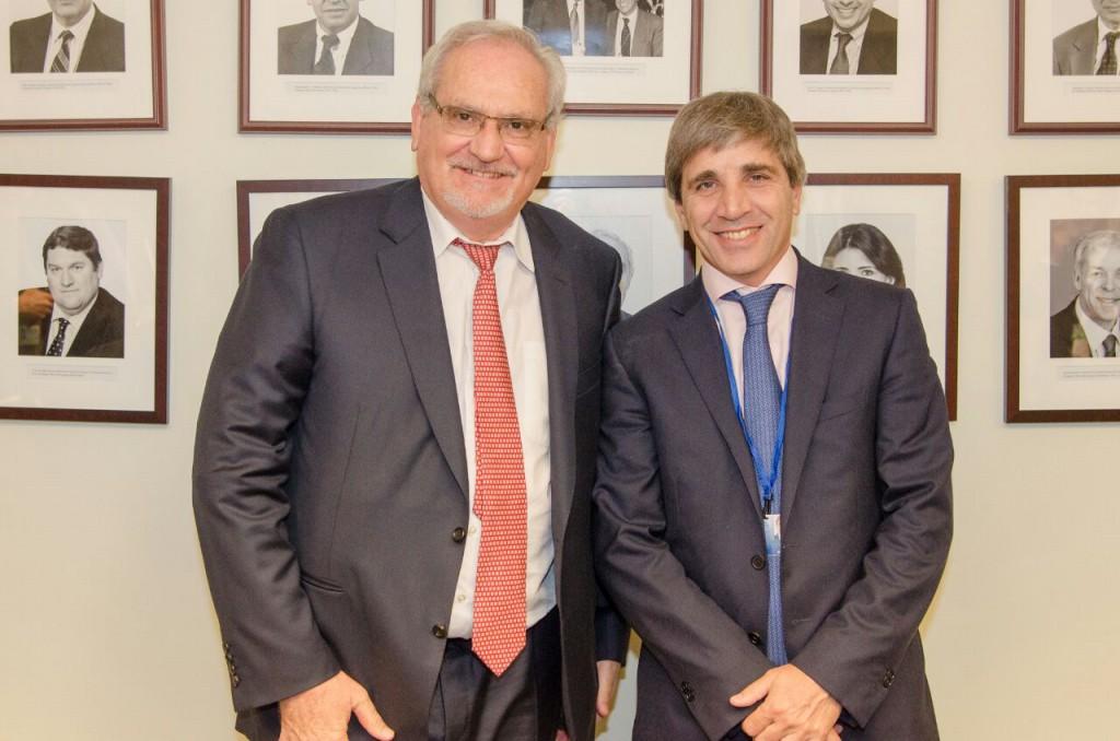 Luis Caputo se reunió con el CEO de la Corporación Financiera Internacional