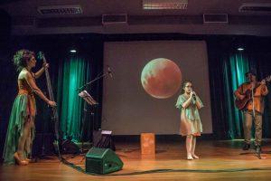 Karoso Zuetta, Nerina Bader y Eva Luna de gira por la provincia