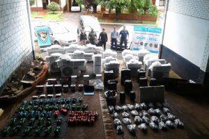 La Policía interceptó 3 vehículos e incautó mercadería de contrabando valuada en más de un millón de pesos