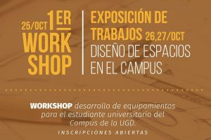 La Universidad Gastón Dachary realiza el primer Workshop de Diseño Industrial