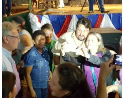 Closs cerró la campaña de la Renovación en Andresito