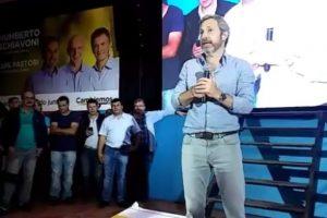 Frigerio acompañó a los candidatos de Cambiemos en su cierre de campaña