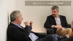 Passalacqua le reiteró a Marcos Peña la necesidad de puentes con el Brasil