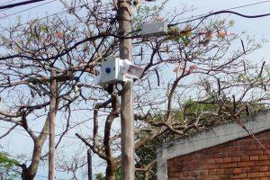 Instalaron 6 nuevas alarmas comunitarias en Posadas