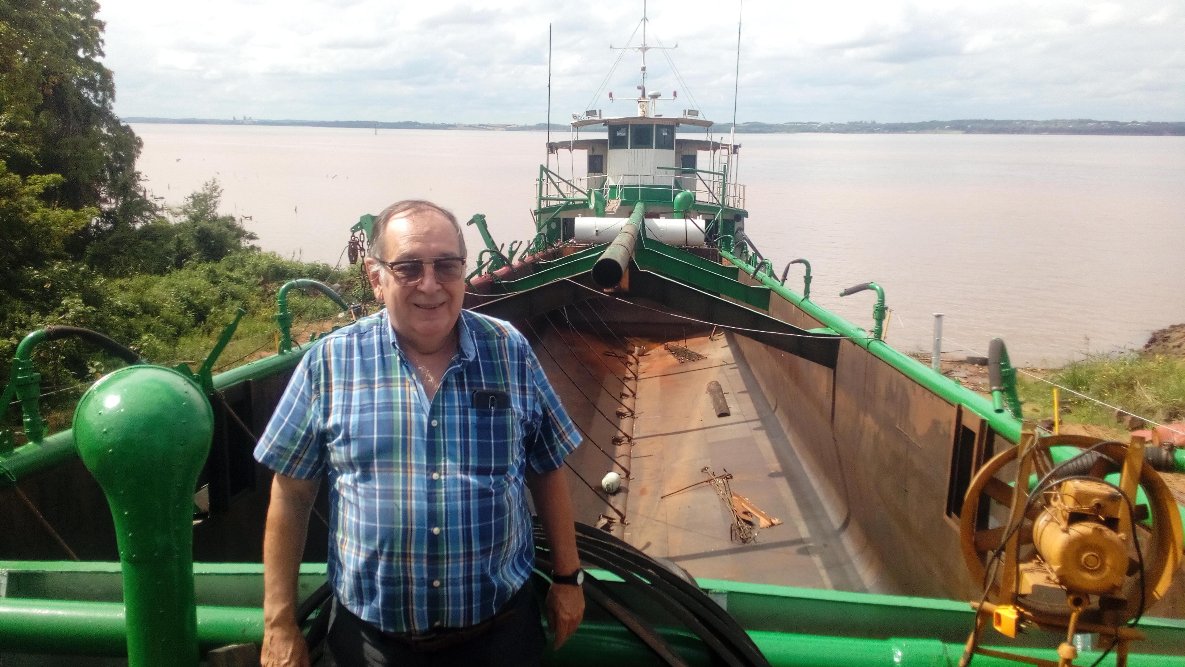 """Muniagurria, el último empresario del río: """"No hay que inventar nada, tenemos que copiar a los paraguayos"""""""