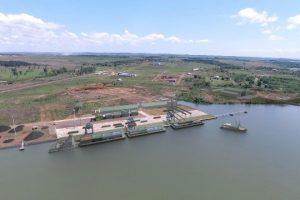 El Puerto de Posadas se pondrá en acción con una carga de rollos de madera