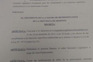 Confirman para mañana a las 18 la reunión parlamentaria para comenzar a analizar la reforma fiscal