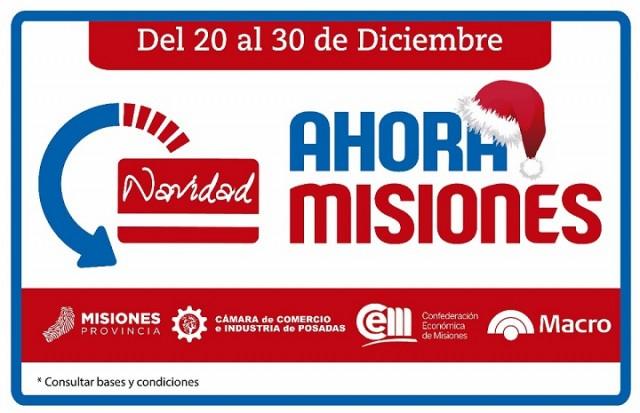 """Ahora Misiones: del 20 al 30 de diciembre especial """"Navidad"""""""