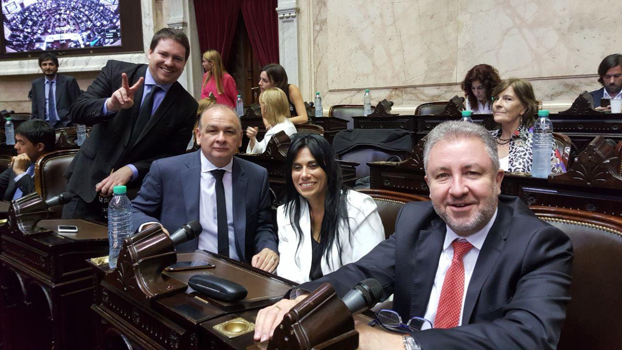 Diputados: juraron Wellbach, Morales y Pastori