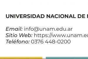 Información Universidad Nacional de Misiones