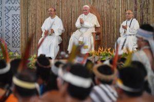 Fuerte defensa del Papa a los pueblos originarios de la Amazonía