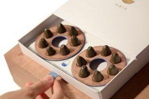 Bombones de chocolate con probióticos