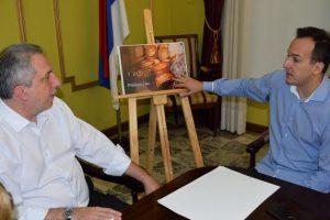 Passalacqua apoyó el programa COMI que busca instalar una marca en la gastronomía local