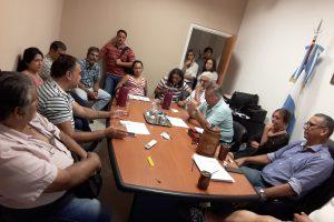 La Mesa Interinstitucional avanza en toda la provincia ante problemáticas comunes