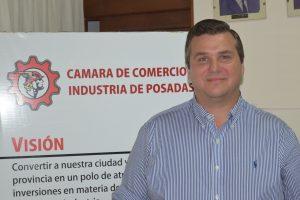 Por dos años Carlos María Beigbeder presidirá  la Cámara de Comercio e Industria de Posadas