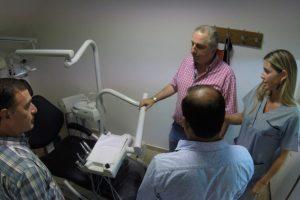 Passalacqua presidió inauguración de ampliación de consultorios odontológicos del Parque de la Salud