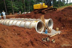 Vialidad: continúan las obras en la ruta 220 y el acceso Guaraypo