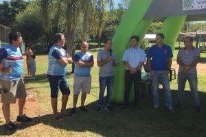 Yacyretá entregó dos piraguas e inauguró una rampa en el club Capri
