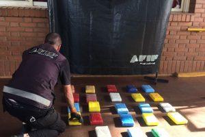 Puente San Roque González: incautaron cocaína valuada en más de 5 millones de pesos