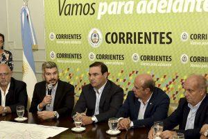 """Marcos Peña, en Corrientes: """"La Argentina va a crecer por segundo año consecutivo"""""""