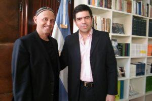 Díaz se reunió con Bergman para delinear políticas de medioambiente
