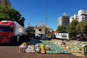 Histórico golpe al narcotráfico: la droga incautada en San José supera las 11 toneladas
