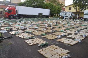 Incautaron 10 toneladas de marihuana en San José