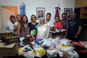 Atraída por el trabajo en merenderos de Posadas, destacada humanitaria decidió aportar su donación
