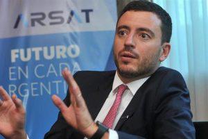 """Del yerno de Aguad que renunció a Arsat: """"No tenía ningún tipo de experiencia en telecomunicaciones"""""""