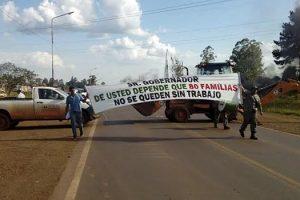 Virasoro: cooperativistas cortan la ruta 14 y el movimiento nacional pide diálogo al gobernador Valdés