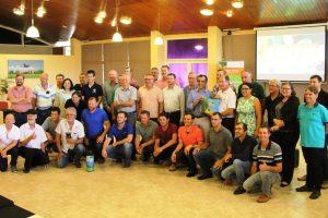 Yerbateros argentinos y del Brasil compartieron una jornada de intercambio en Posadas