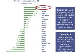 ¿Qué estadística económica puso a Misiones como la provincia número 1 en 2017?